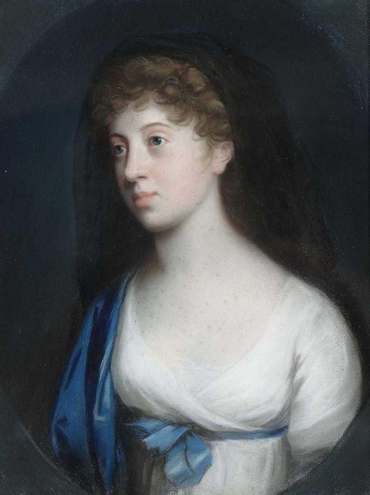 https://flic.kr/p/nADAmP | Attributed to Johann Heinrich Schröder - Princess Marie of Baden (1782–1808)