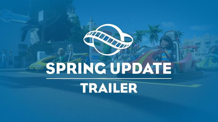 Planet Coaster FREE Spring Update Available Now