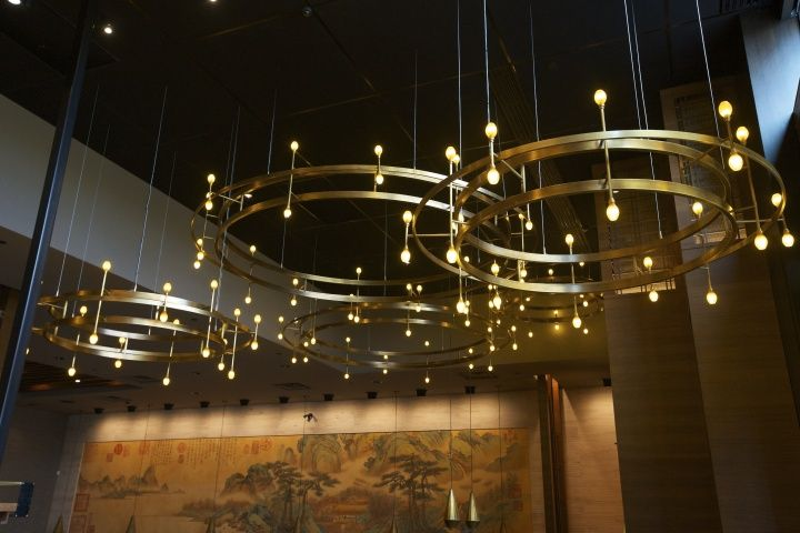 P.F. Chang restaurant by Aria Group Architects & Bloom Lighting Group, Laval   Canada restaurant