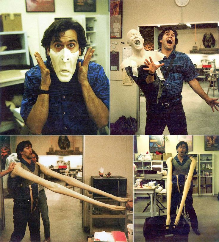 Rare and beautiful celebrity photos   Bruce Campbell I dont know if this was a best movie, Bruce Campbell is awesome.
