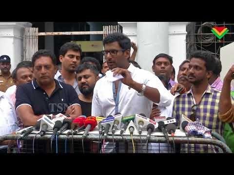 Vijay's in Mersal' film will release on Diwali    Vishal  TSN