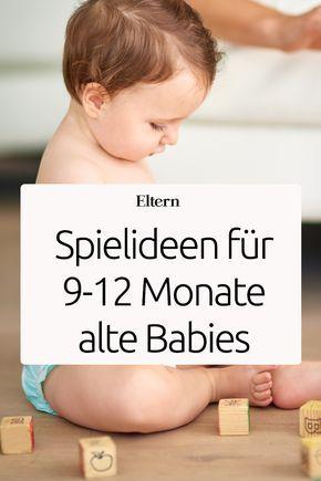Hier kommt Neues für Euren Spielspaß mit 9 - 12 Monate alten Babys. Da bei unseren Spielideen auch mal Kleinteile zum Einsatz kommen, bleib lieber dabei, damit nichts unbemerkt in dem Mund Deines Babys verschwinden kann.