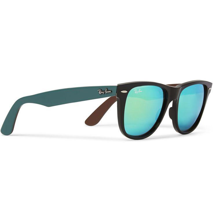 Ray-Ban Wayfarer Mirrored Acetate Sunglasses