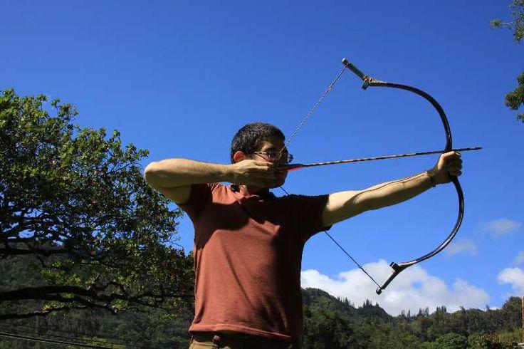 google archery shoot archery crossbow bowyer pvc backyard bowyer