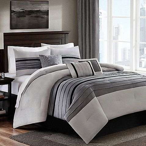 The Dylan Comforter Set Outfits Your Bedroom In Modern