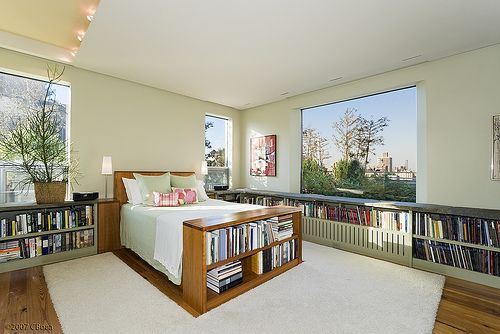 """My """"dream"""" bedroom except the view would be pine trees & mountains."""