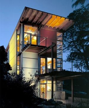 Upright home.Bohlin Cywinski, Bad Design, Goslin House, Capitol Hills, Bohlin Contemporary, Jackson Goslin, House Seattle, Modern House, Cywinski Jackson