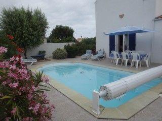 Maison sur terrain clos avec piscine chauffée (WIFI) - Charente-Maritime - 657139   Abritel