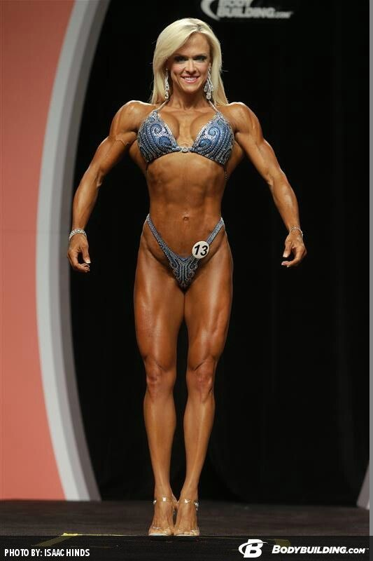 GENNIFER STROBO (Olympia 2013) | More female bodybuilders