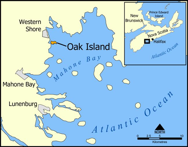 Oak Island - Pitbladdo mining engineer (also Pitbladdo mine in Colorado)