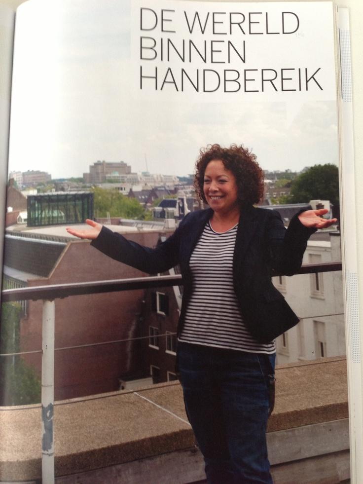 Interview voor jaarboek 2012 van Binnenlands Bestuur met als thema Social Media..