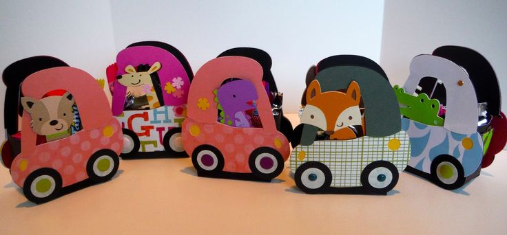More coupe car treat boxes - Create A Critter