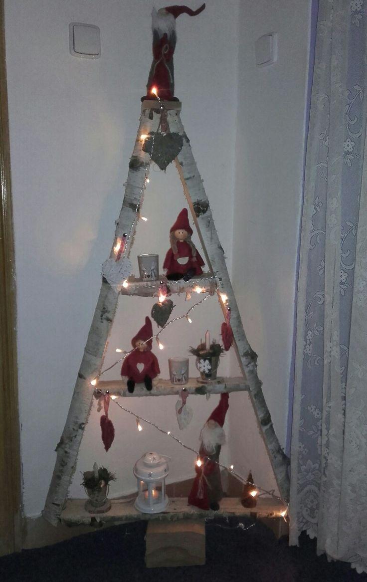 Vánoční dekorace u nás doma