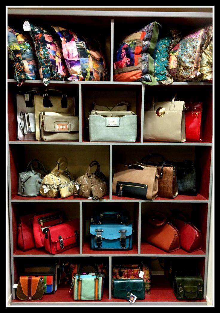 HANDBAGS...... Visit Signorina's the Grove for a selection of handbags. 012 807 4235  www.signorinas.co.za