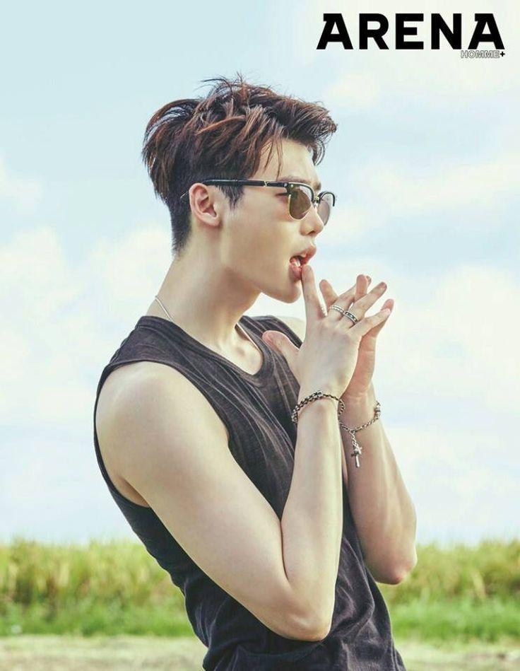 Only Lee Jong Suk — Leejongsuk - Arena Homme July 2016 Cr: Arena...