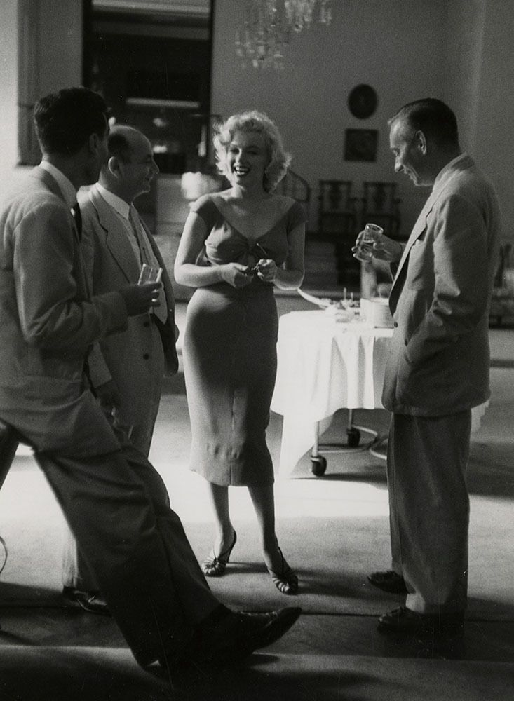 Rare 1952 Candid Marilyn Monroe Photograph Iconic Pink ...