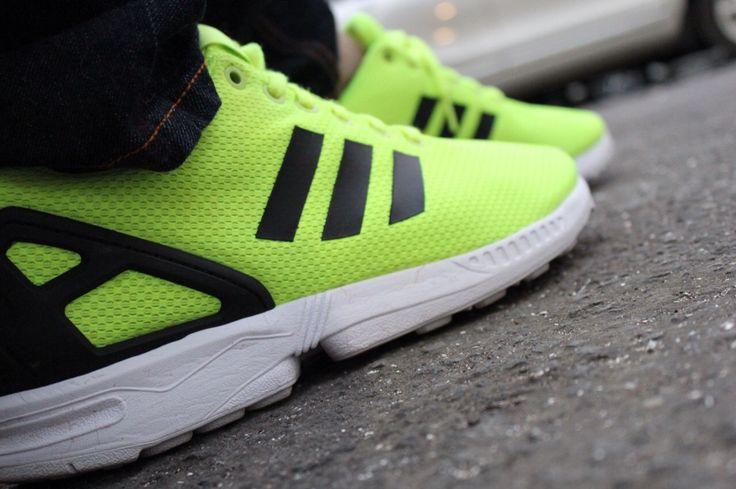 Adidas ZX-FLUX Solar Green
