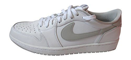 nike air jordan 1 retro low OG mens trainers 705329 sneakers shoes uk 10 us 11 eu 45 white neutral grey white 100 * Want to know more, click on the image.