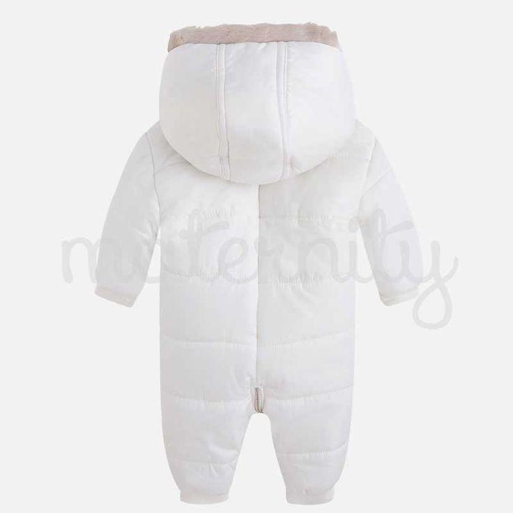 Mayoral φόρμα εξόδου έκρου από μικροφίμπραl.Η ιδανική λύση όταν χρειάζεται να μεταφέρουμε το μωράκι μας έξω από το σπίτι και κάνει κρύο.