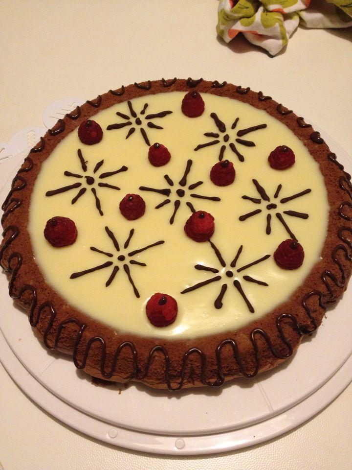 Torta al cioccolato bianco!!  :-)