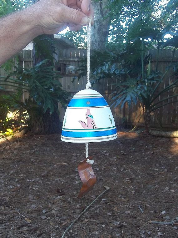 WIND CHIME SOUTHWESTERN / Coyote and by WhiteWolfeNativeArts, $10.00