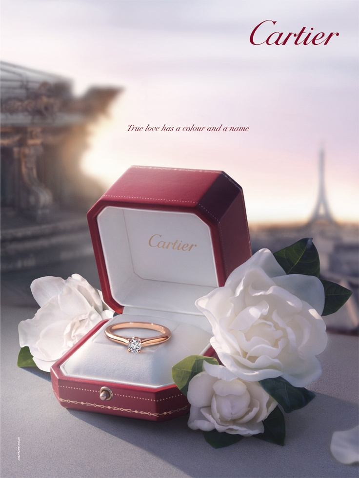 Bridal Advertising Diamonds Pinterest Cartier