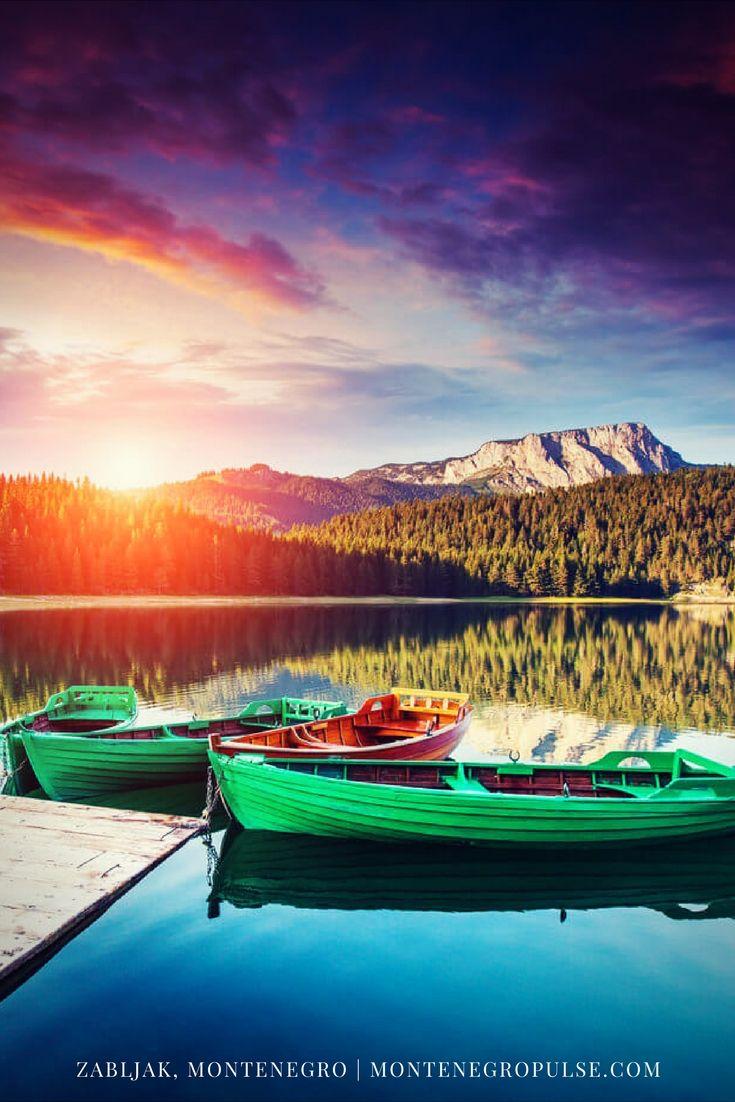 The Black Lake in Zabljak, Durmitor National Park, Motnenegro