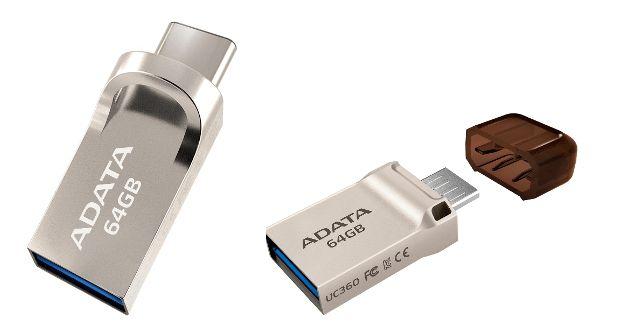 Adata lanseaza memoriile UC360 si UC370 (stick-uri/flash USB)