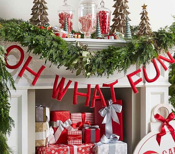 Oh What Fun Garland | Pottery Barn Kids