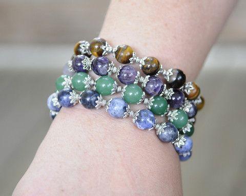 Stone Bracelets   One Earth #ethicalfashion http://www.one1earth.com/#_a_marymadalene