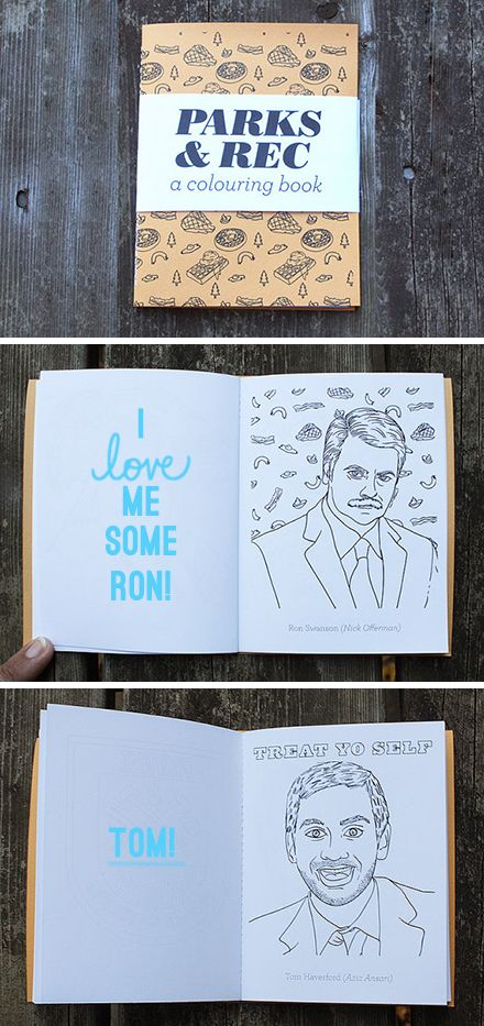 Super awesome coloring books by Toronto based art and design collective, Team Art. What's not to love?
