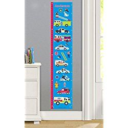 Heroes Personalized Wall Decal Growth Chart By Olive Kids