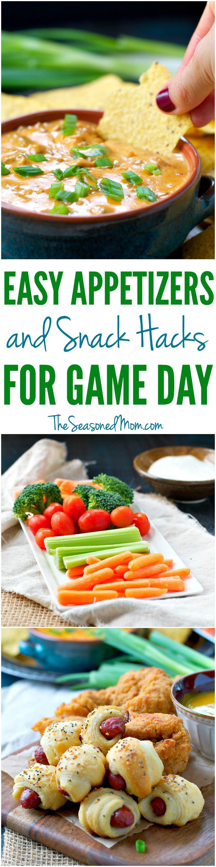 Easy Appetizers & Snack Hacks That Are Perfect For Game Day With @TysonFoods @Walmart #GameDay #TabletopTailgate #ad