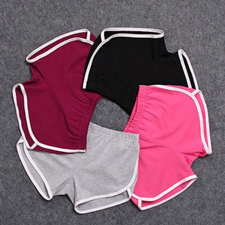 1 Pcs Summer Shorts Women Esportes Shorts Workout Waistband Skinny Short 5262