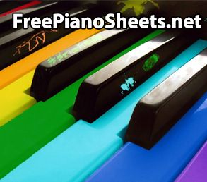 We have a very large free piano sheet music collection. Join us and learn now how to play piano like the pros using the free piano sheets. Download, print or just browse through our free piano sheet music collection.
