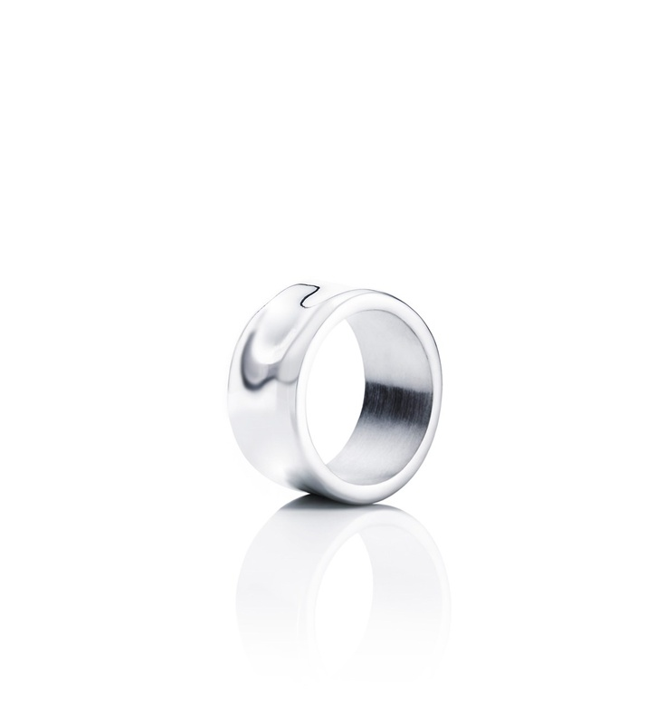 Moonwalk Wide Ring - Silver - Rings - Efva Attling  €190