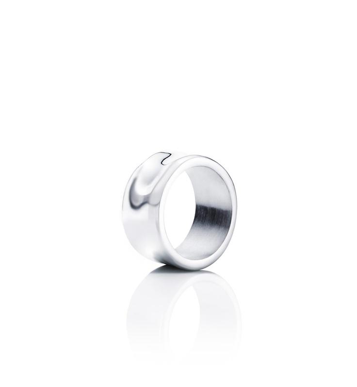 Moonwalk Wide Ring - Silver - Rings - Efva Attling  €190