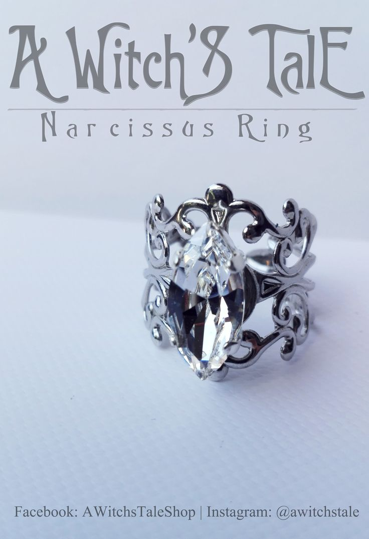 Narcissus Ring by A Witch's Tale