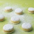Petite Lemon Curd Cookies always a hit!