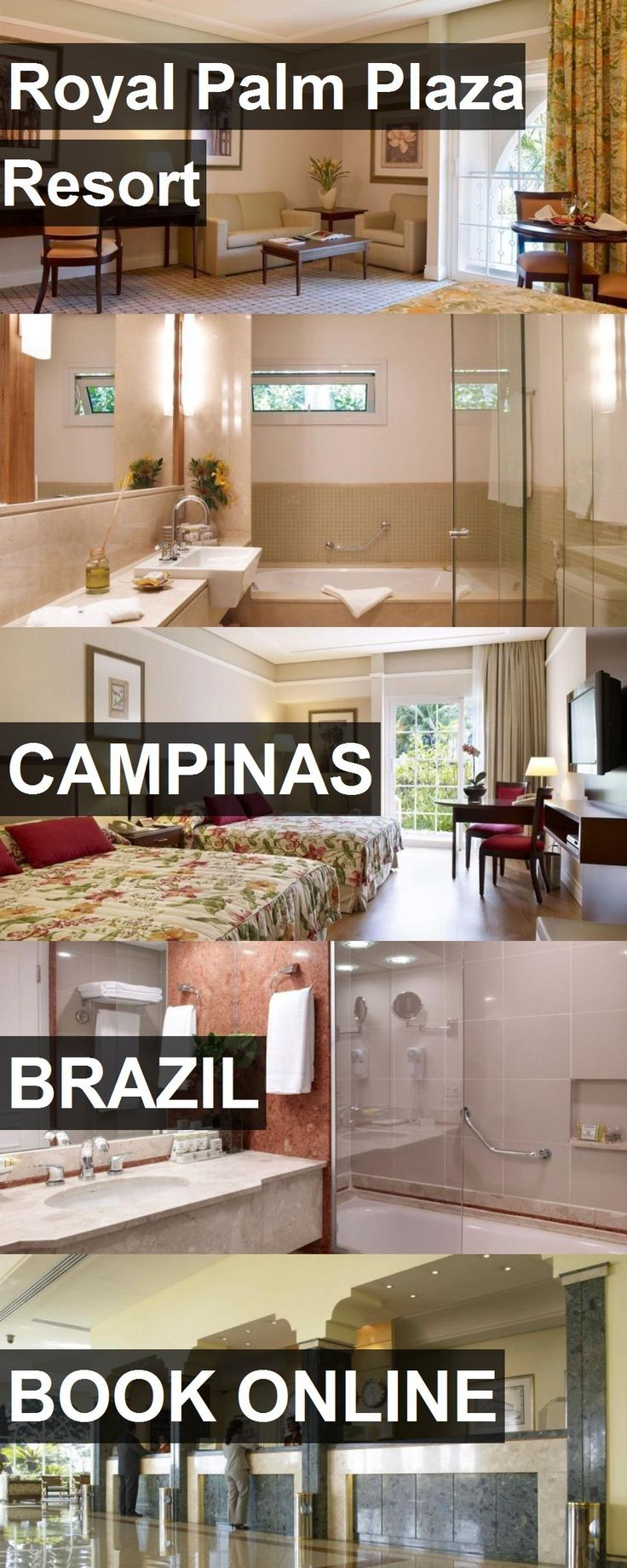 Hotel Royal Palm Plaza Resort in Campinas, Brazil. For more information, photos, reviews and best prices please follow the link. #Brazil #Campinas #travel #vacation #hotel