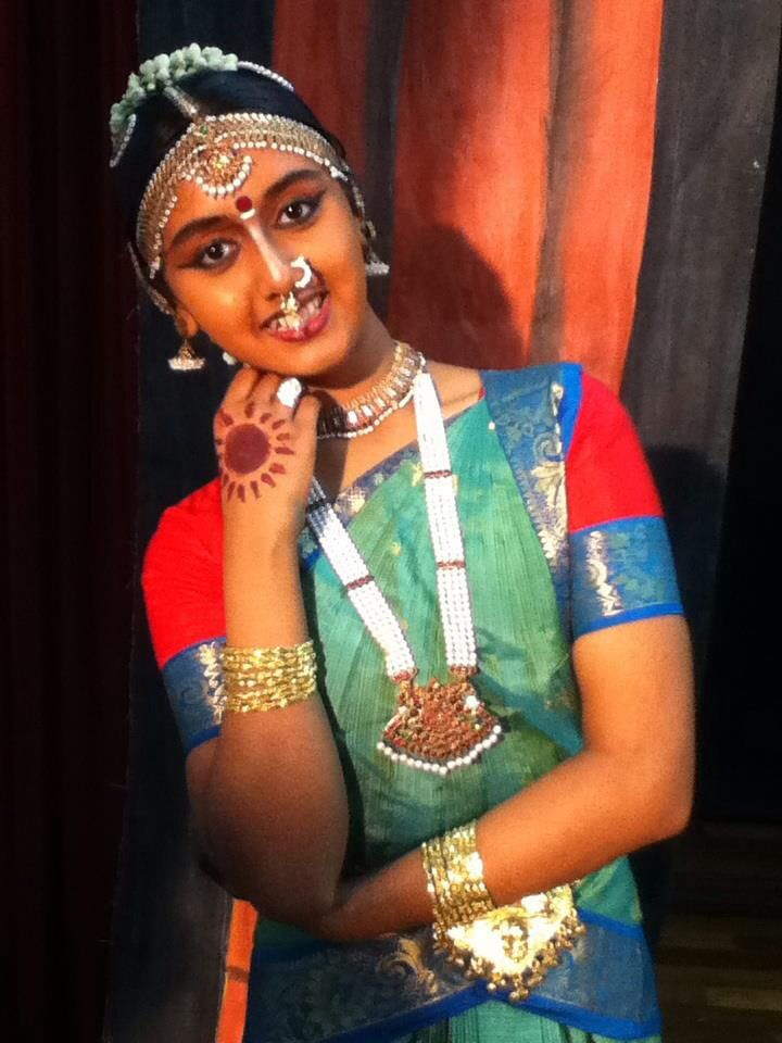 Bharatanatyam costumes combination of red blue and green ...