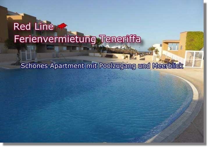 Schönes Apartment mit Poolzugang und Meerblick in Teneriffa. Poris de Abona