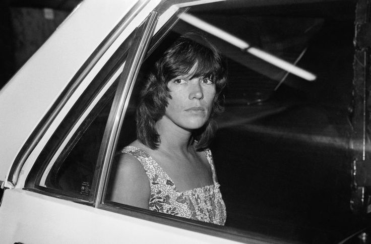 "Leslie Van Houten, former member of the notorious ""Manson family"" murderers, has been approved for parole by the state of California. Van Houten was convicted in 1971 for the 1969 murders of Leno La Bianca & his wife Rosemary. ""The only violent thing she has ever done in her entire life was this crime & that was under the control of Charles Manson,"" Van Houten's lawyer, Rich Pfiffer, said in a previous interview arguing for her release. Pictured, Van Houten in 1978."