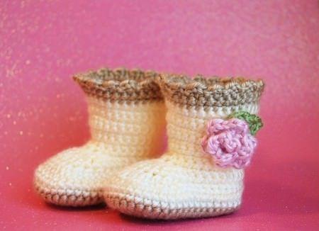 Zapatitos de Bebé a Crochet Paso a Paso Gratis | Patrones Crochet, Manualidades y Reciclado