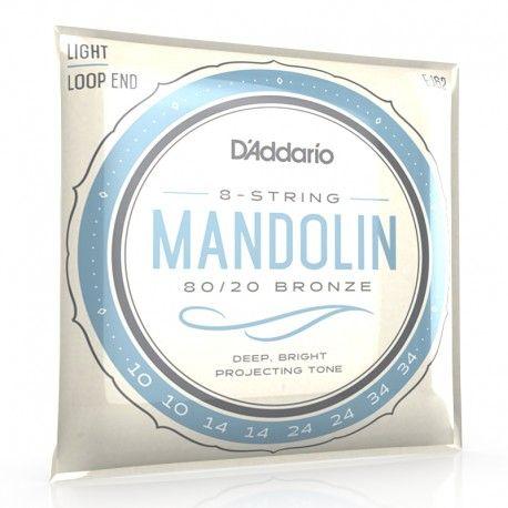 Cordes pour Mandoline D'addario EJ62