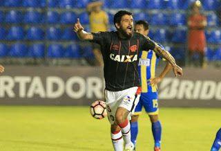Blog Esportivo do Suíço:  Atlético-PR vence o Capiatá fora e entra no grupo do Fla na Libertadores