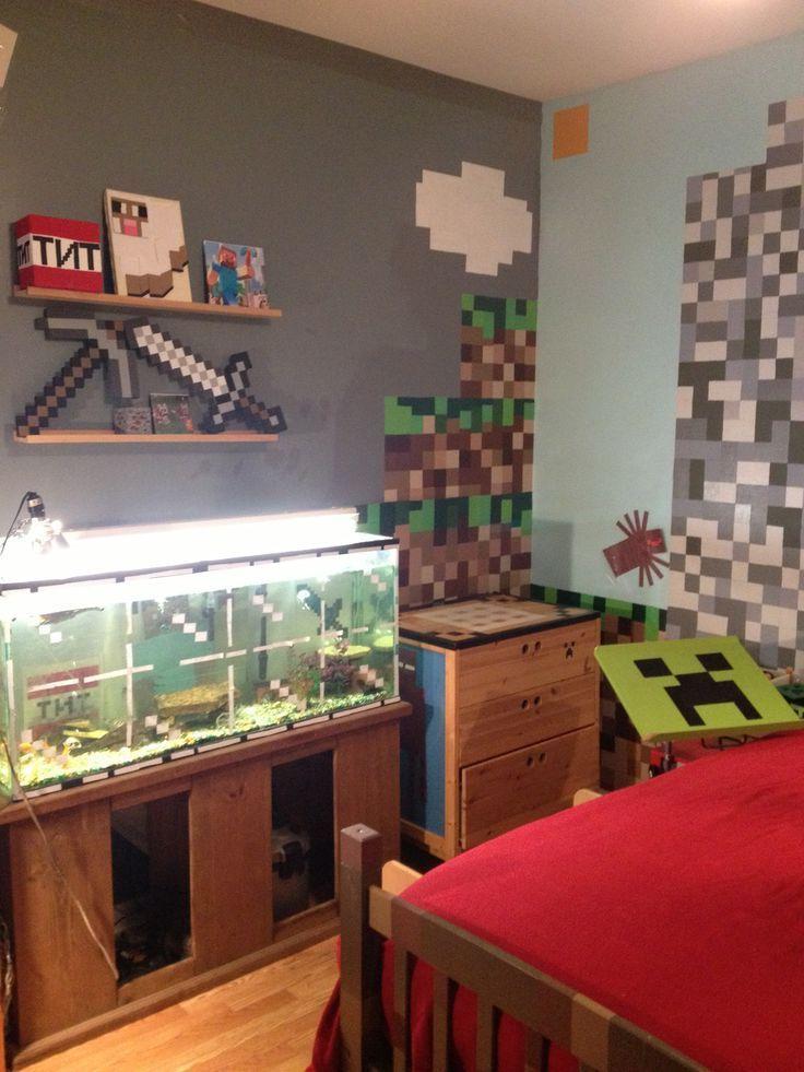 Minecraft bedroom ideas in real life