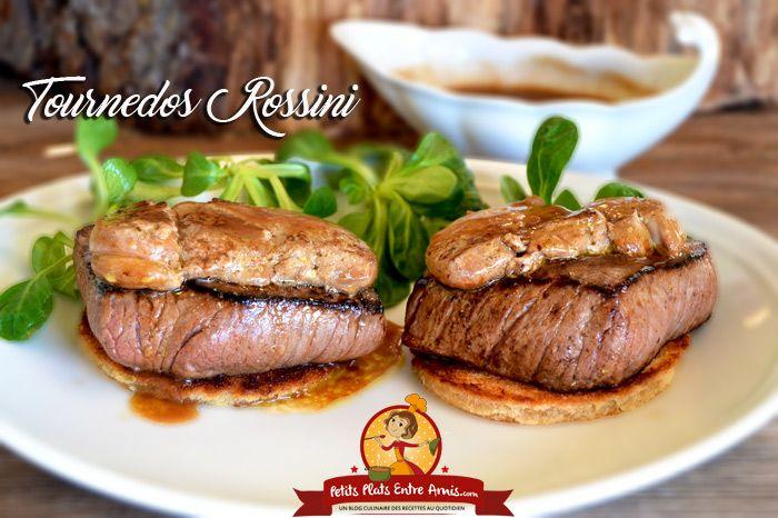 Grand classique de la gastronomie française, le tournedos Rossini trouve sa place sur les meilleures tables ou pour les repas de fêtes. La recette du tournedos Rossiniest facile à réaliseretdema…