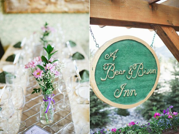 A Bear and Bison Inn / Canmore Wedding @kristynhphoto