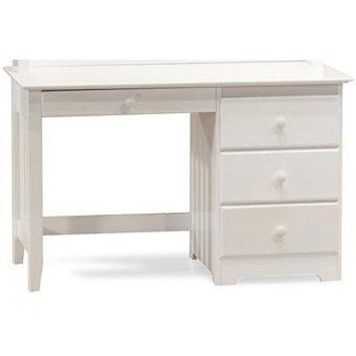 Windsor Desk W/Drawer In White By Atlantic Furniture By Atlantic Furniture,  Inc.